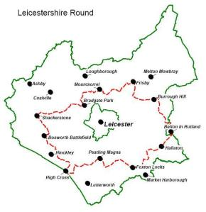 Map of Leicestershire Round