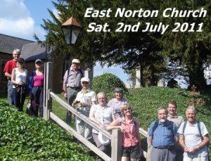 LFA Saturday walk from East Norton