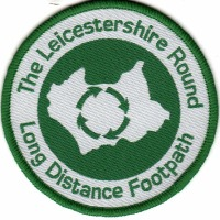 Leicestershire Round sew on badge