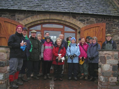 Ted & Betty's walk 3rd January 2012