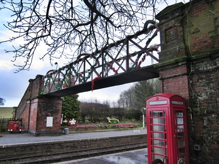 Shackerstone station footbridge