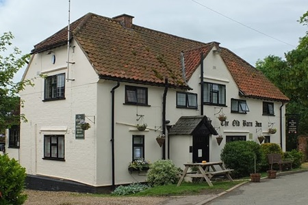Old Barn Inn at Glooston Leicestershire