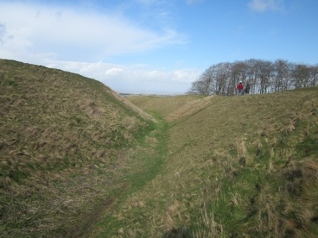Barbury Castle Iron Age Fort