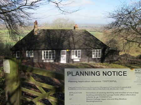 Warren Cottage may have gone when we next visit - consent to demolish