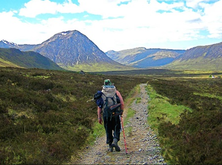 Part of the West Highland Way