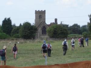 Swarkestone church