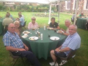 Lunch at Launde Abbey