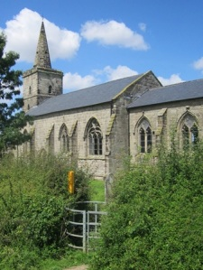 Ratcliffe Culey church spire provides an ancient waymark