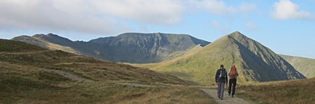 The path from Glenridding towards Hole-in-the-Wall