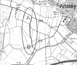Can you help claim for path near Anstey?
