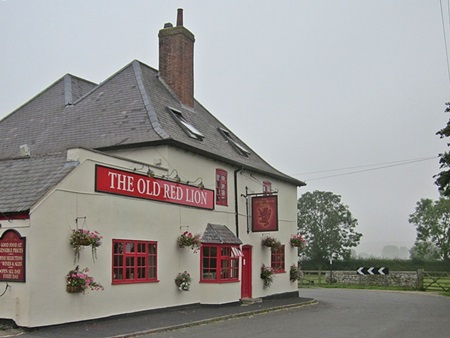 The Old Red Lion at Welham