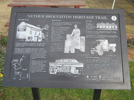 Nether Broughton Heritage Trail
