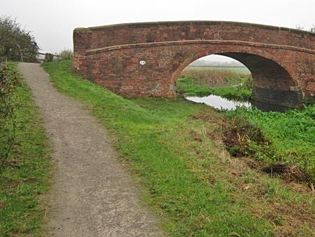 Grantham canal Longore bridge