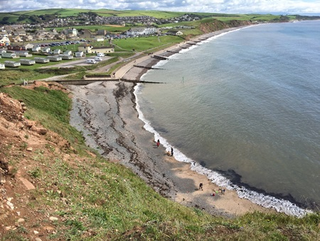 St Bees start of Wainwrights Coast to Coast walk 183 miles