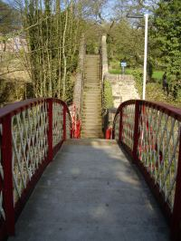 Crich Footpath 42 at Whatstandwell station